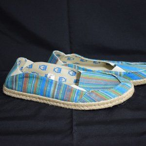 Target Brand Blue Shoes with Owls